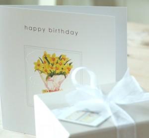 Happy Birthday Brochure Front